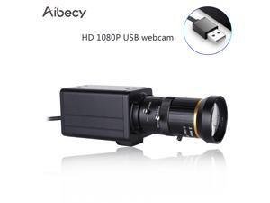 Aibecy 4K HD Camera Computer Camera Webcam 8 Megapixels 10X Optical Zoom 60 Degree Wide Angle Manual Focus Auto Exposure Compensation with Microphone USB Plug & Play for Video Conference Online