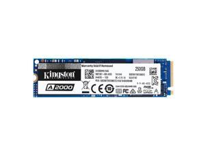 Kingston A2000 Solid State Drive NVMe PCIe SSD High Speed Reading Writing SSD Compact Shockproof M.2 NVMe SSD 250GB