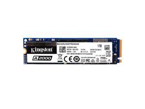 Kingston A2000 Solid State Drive NVMe PCIe SSD High Speed Reading Writing SSD Compact Shockproof M.2 NVMe SSD 1TB