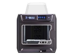 QIDI TECH X-MAX Intelligent Industrial Grade 3D Printer Model X-max,5 Inch Touchscreen,WiFi, Precise Printing with ABS,PLA,TPU,Flexible Filament,300x250x300mm