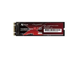 X-Star M.2 Solid State Drive Internal SSD Thunder Shark M.2 SSD M.2 2280/3D NAND Technology/High Transmitting Speed 512GB