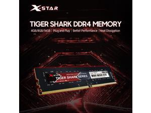 X-Star 4GB DDR4 2666MHz Desktop Memory RAM 240 Pin 1.2V/ Great Responsiveness/ Plug and Play/ for Intel/AMD Motherboards