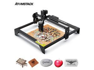 ATOMSTACK A5 M40 Laser Engraver,DIY Laser Engraving  Machine 410*400mm Carving Area  Full-Aluminum Alloy Structure Upgraded Fixed-focus Laser Excellent Eye Protection