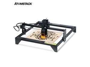 ATOMSTACK A5 10W Laser Engraver Eye Protection Desktop DIY Engraving Cutting Machine 410x400mm Large Carving Area Full-metal Structure Quick Assembly Design Upgraded Fixed-focus Laser Ultra-fine Spot