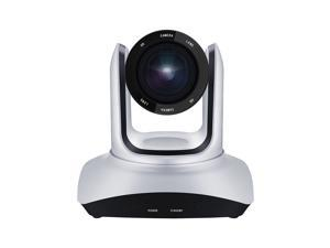 Conference PTZ Camera Wall Mount WebCam 20X Optical Zoom USB Connection with Remote Controller Plug & Play Compatible with Windows Mac for Zoom Skype Video Meeting Online Teaching