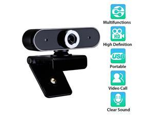 GL68 HD Webcam Video Chat Recording Usb Camera Web Camera with HD Mic for Computer Desktop Laptop Online Course Studying Videoconferencing Webcam