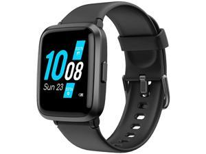 Smart Watch for Android Phone Compatible Koogeek Smart Watch for Men Women with Blood Pressure Monitor Fitness Tracker Blood Oxygen Meter Heart Rate Water Compatible with iPhone Samsung Android Phones