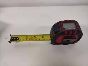 Meterk Laser Tape Measure 2 in 1, Laser Measure 131.2Ft/40M, Measuring Tape 16.5Ft/5M, Multifunctional Laser Distance Meter with Type-C Charging and LCD Digital Display for Measuring Area/Volume