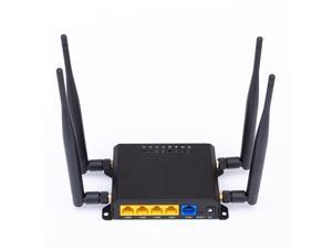 X10 4G LTE OpenWRT Smart Router Extender High Power SIM Card WiFi Wireless External 5dbi Antenna Modem 300Mbps Qualcomm Chip CPE America Version