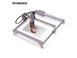 ATOMSTACK A5 Pro 40W Laser Engraver CNC Desktop DIY Laser Engraving Cutting Machine with 410x400 Engraving Area Spot Compression Eye Protection Fixed-Focus Laser Quick Assembly