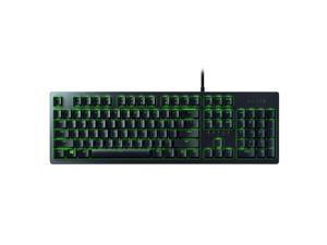 Razer Huntsman Essential Mechanical Keyboard 104 Keys Wired RGB Backlight Gaming Keyboard with Razer Optical Switches Black