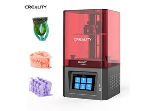 Creality HALOT-ONE Resin 3D Printer with Precise Intergral Light Source, CL-60 LCD 3D Printer with 2K Monochrome LCD, Support WiFi Function and Printing Size 5x3.1x6.2inch