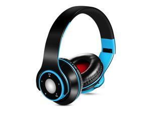 Wireless Over-Ear Headset,SG-8 Bluetooth 4.0,EDR Headphones,TF Card FM Radio Foldable Wired Earphone Hands-free w/ Mic