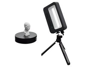Sense Pro Handheld 3D Scanner Portable 3D Modeling Scanner High Precision Accuracy 0.3mm Support OBJ/STL/PLY Output Compatible with Windows10/8 for 3D Printing Industrial Design Modeling