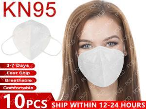 10 Pcs KN95 Mask PM2.5 Filter Masks Non-woven Anti-Dust Safet Protective Mouth N95 Face Mask FFP2 Mask