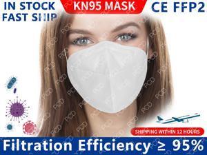 10 Pcs KN95 Face Mask FFP2 Facial Masks N95 Filter Mask Protecive Mask Anti-Fog Dust Mask Mouth Masks For Women And Men