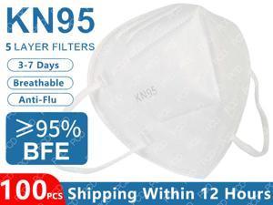 5 Layers KN95 Mask Safety Dust Respirator Mask Face Masks Mouth Dustproof Protective Mask Kn95 Mask Reusable Masks