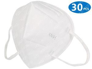 30 Pcs KN95 Masks 5 Layers Filter Dust Mouth Mask PM2.5 N95 Face Mask Anti-Flu Personal Protecitve Health Care KN95Mask In Stock