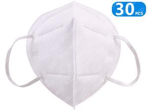 KN95 Face Mask 30 Pcs PM2.5 Anti-Fog Strong Protective Mouth Mask Respirator Reusable N95 Masks In Stock