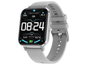 Smart Watch Android 1.78 Inch HD Screen IP68 Waterproof Heart Rate Monitor Fitness Tracker Sport Watch For Men Women (Android, IOS)
