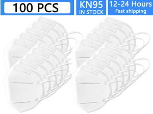 100pcs KN95 Face Mask Anti Pm 2.5 N95 Face Mask For Personal Protective Respirator Non-Disposable Masks