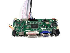 Kit for LM185WH1-TLE1 TV+HDMI+VGA+USB LCD LED screen Controller Driver Board