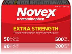 Novex Acetaminophen Oral Suspension – For Infants and Children Ages 2 to 11 – Fast & Effective Pain and Fever Relief – Delicious Strawberry Flavor – 4 Fl Oz (120ml) – Sugar Free – Alcohol Free
