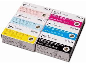 Epson DiscProducer PP-100 C13S02A9991 Ink Cartridge (Cyan, Light Cyan, Magenta, Light Magenta, Yellow, Black 1-Pack each)