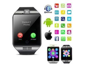 Bluetooth Smart Watch With Touch Screen Support TF Sim Card Camera Smartwatch for Android Phone Men Passometer Wearable