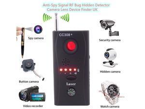 High quality Hidden Camera GSM Audio Bug Detector Anti Spy Finder GPS Signal Lens RF Tracker