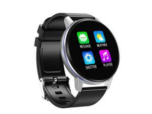 S01 Bluetooth Smart Watch Fashion Blood Pressure Oxygen Heart Rate Monitor Smartwatch For Android Ios Phone(Black + Silver)
