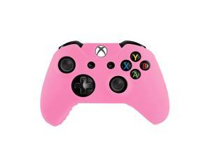 Flexible Silicone Protective Case For Xbox-One Game Controller - Black/Green/Pink [Xbox One]