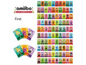 Animal Crossing-New 100Pcs Full Set NFC PVC TAG Cards for Nintendo Switch AMIIBO WII U Villager Cards(No:1-100)Big Card