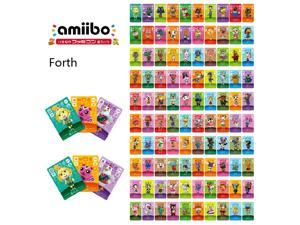 Animal Crossing-New 100Pcs Full Set NFC PVC TAG Cards for Nintendo Switch AMIIBO WII U Villager Cards(NO301-400) Big Card