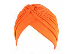 Women Muslim Beanie Cancer Chemo Hat Bow Knotted Stretch Turban Band Headwrap Cap