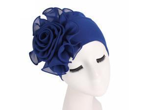 Women Hair Cover Head Scarf Flower Turban Wraps Muslim Cancer Chemo Beanie Sleep Night Hats Caps