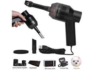 Mini Vacuum Cleaner Portable USB Desk Computer Keyboard Brush Dust Handheld Kit Clean Hand Held Vacuum Cleaner Portable Car Cleaner