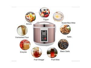 Intsupermai Multi-functional Fermentation Pot Machine Fermenter Black Garlic Maker Machine with Full Automatic Intelligent Control 5L