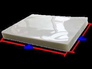 Deals on 100-Pack Intsupermai PVC 2Flap 5Mil Glossy Clear Film Laminator