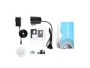 Leshp H.264 1.0 Mp Hd Wifi Security Mini Ip Ir Bullet Camera Sn-Ipc-4006Fsw10,White & Black,US Plug