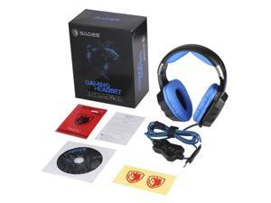 Black USB PC Gaming Headsets Breathing LED 7.1 Sound Stereo for SADES A70,black