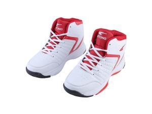 Non-Slipping Four Seasons Men'S Casual Comfortable Basketball Sports Shoes,red,39