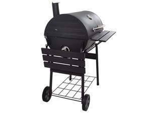 """30"""" Multi-function Stainless Steel Charcoal Barrel BBQ Grill Barbecue Smoker Barbecue Smokers Tool Kits for Outdoor Picnic Patio Backyard Camping Cooking"""