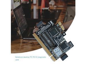 Multifunction PC PCI PCI-E Mini PCI-E LPC Motherboard TL-460S Diagnostic Tester Debug Analyzer Cards For Desktop Computer - black