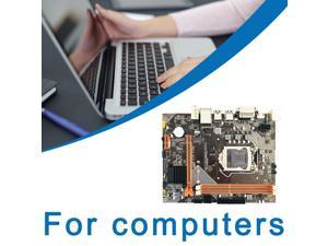 H61 For Motherboard Integrated Graphics Set For Intel Core I7/i5/i3/Pentium/Celeron Desktop USB 3.0 VGA DVI HDMI-compatible - black