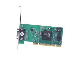 Desktop Computer PCI Graphics Card ATI Rage XL 8MB Tractor Card VGA Card Desktop Computer PCI Graphics Card,green