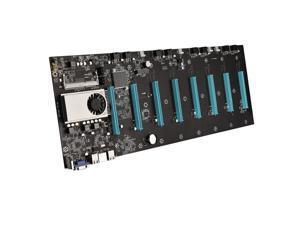 BTC-S37 Motherboard CPU Set 8 Video Card Slot DDR3 Memory VGA Interface