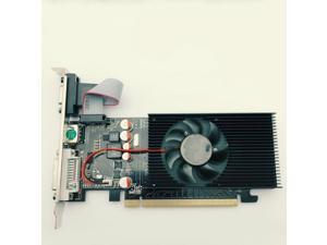 Video Card Computer - GeForce GT210 1GB 64bit VGA/DVI Game Graphics