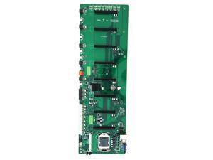 B85 Main board mine board - In-line Eight-card BTC Multi-graphics 8-card Motherboard - Large Spacing Motherboard - Mine Board