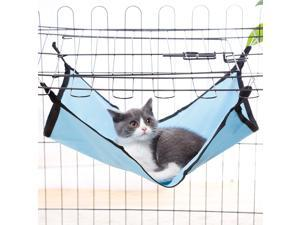 Cat Hammock,Cat Kennel Nylon Small Pet Animal Cat Bed Hanging Hammock Cage Bed Waterproof Durable Breathable